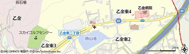 福岡県大野城市乙金東周辺の地図