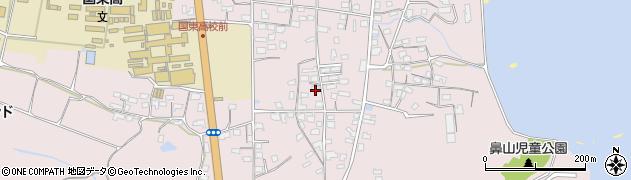 大分県国東市国東町鶴川1498周辺の地図