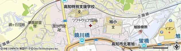 高知県高知市本宮町周辺の地図