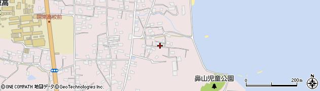 大分県国東市国東町鶴川842周辺の地図