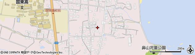 大分県国東市国東町鶴川1162周辺の地図