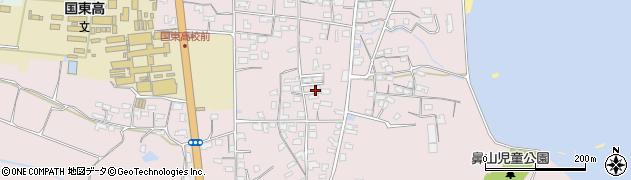 大分県国東市国東町鶴川1165周辺の地図