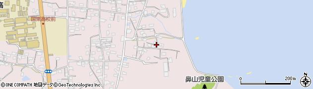 大分県国東市国東町鶴川833周辺の地図
