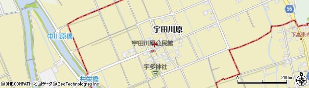 福岡県福岡市西区宇田川原周辺の地図