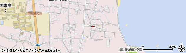 大分県国東市国東町鶴川829周辺の地図
