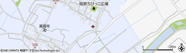 大分県中津市加来267周辺の地図