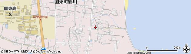 大分県国東市国東町鶴川815周辺の地図