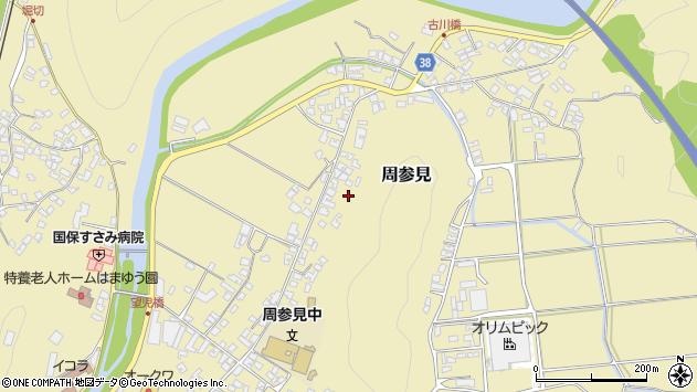 〒649-2621 和歌山県西牟婁郡すさみ町周参見の地図