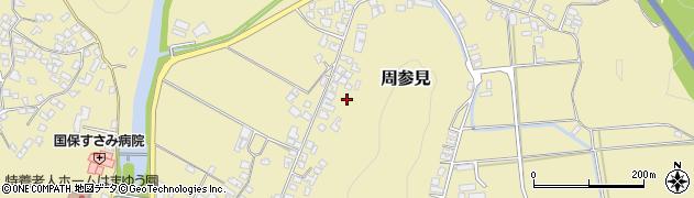 和歌山県すさみ町(西牟婁郡)周参見周辺の地図