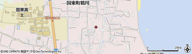 大分県国東市国東町鶴川1170周辺の地図