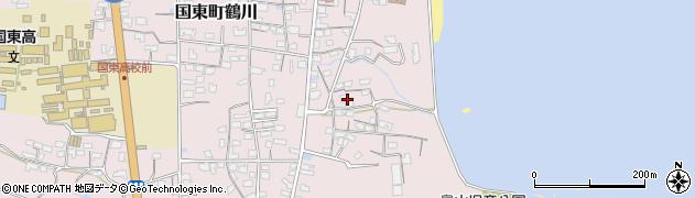 大分県国東市国東町鶴川826周辺の地図