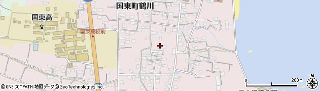 大分県国東市国東町鶴川1171周辺の地図