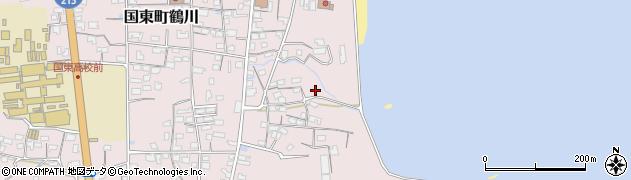 大分県国東市国東町鶴川786周辺の地図