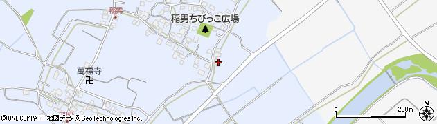 大分県中津市加来116周辺の地図