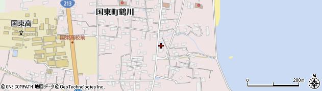大分県国東市国東町鶴川813周辺の地図