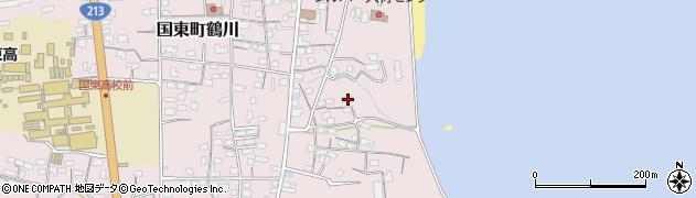 大分県国東市国東町鶴川796周辺の地図