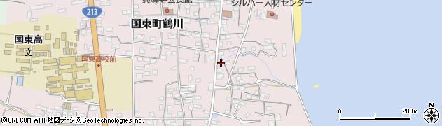 大分県国東市国東町鶴川811周辺の地図