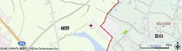 大分県中津市植野850周辺の地図