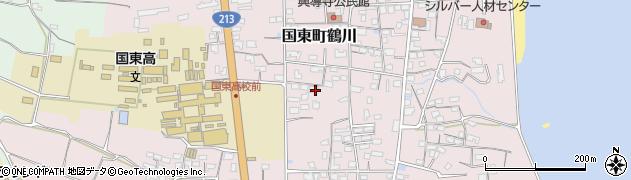 大分県国東市国東町鶴川1456周辺の地図