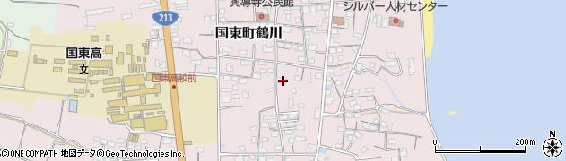 大分県国東市国東町鶴川1177周辺の地図