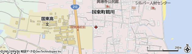 大分県国東市国東町鶴川1446周辺の地図
