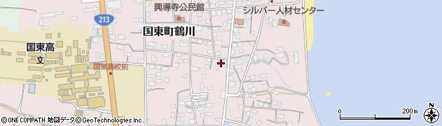 大分県国東市国東町鶴川1189周辺の地図