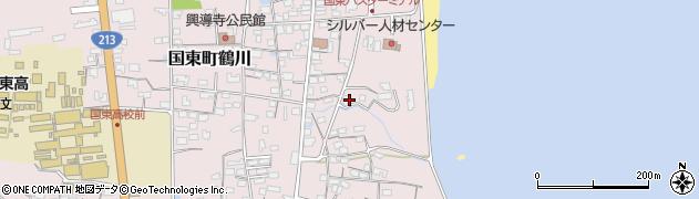 大分県国東市国東町鶴川690周辺の地図