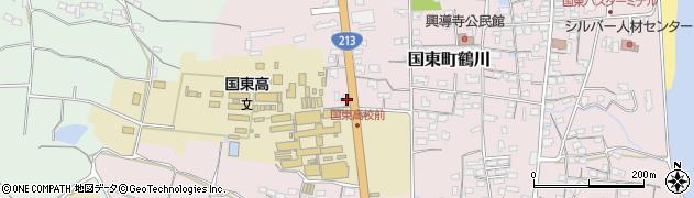 大分県国東市国東町鶴川1787周辺の地図