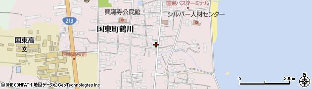 大分県国東市国東町鶴川1195周辺の地図