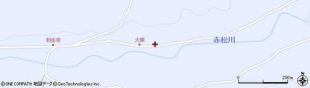 大分県国東市国東町赤松470周辺の地図