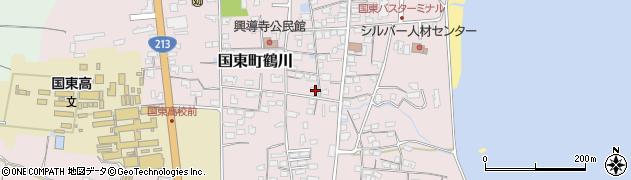 大分県国東市国東町鶴川1219周辺の地図