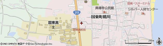 大分県国東市国東町鶴川1786周辺の地図
