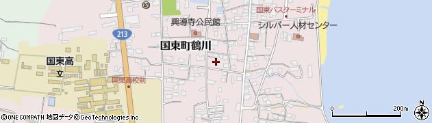 大分県国東市国東町鶴川1220周辺の地図