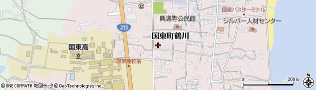 大分県国東市国東町鶴川1412周辺の地図
