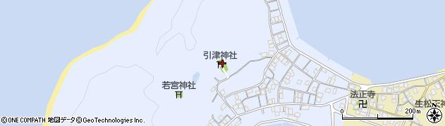 福岡県糸島市志摩船越周辺の地図