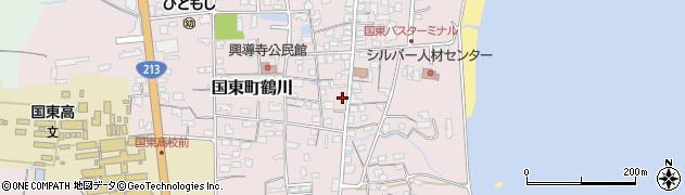 大分県国東市国東町鶴川1200周辺の地図