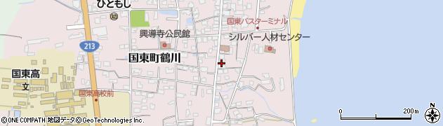 大分県国東市国東町鶴川730周辺の地図