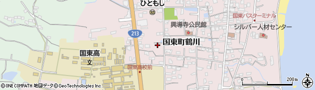 大分県国東市国東町鶴川1798周辺の地図