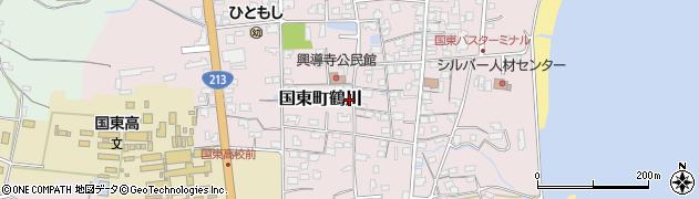 大分県国東市国東町鶴川1426周辺の地図