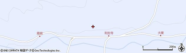 大分県国東市国東町赤松中村周辺の地図