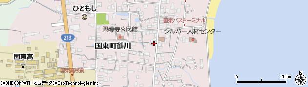 大分県国東市国東町鶴川1202周辺の地図
