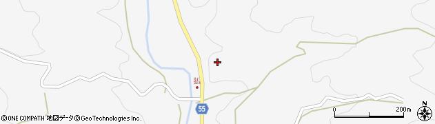 大分県国東市安岐町両子払周辺の地図