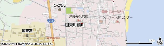 大分県国東市国東町鶴川1422周辺の地図