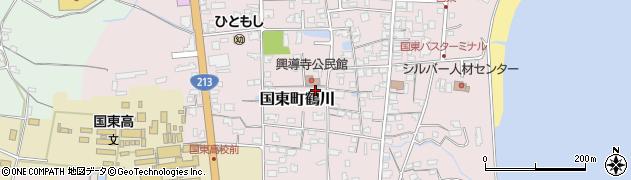 大分県国東市国東町鶴川1421周辺の地図