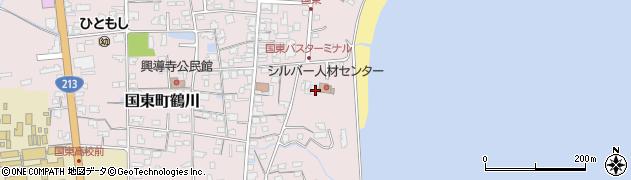 大分県国東市国東町鶴川700周辺の地図