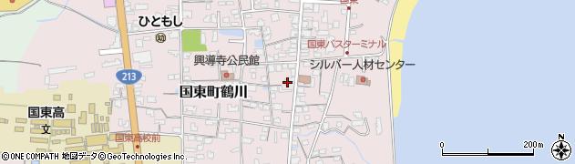 大分県国東市国東町鶴川1204周辺の地図