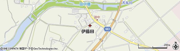 大分県中津市伊藤田1813周辺の地図