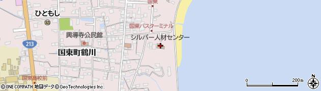 大分県国東市国東町鶴川659周辺の地図