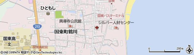 大分県国東市国東町鶴川726周辺の地図