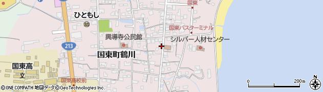 大分県国東市国東町鶴川1205周辺の地図